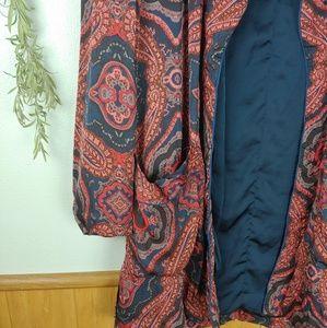 Free People Intimates & Sleepwear - Free People Sensual Printed Paisley Robe Jacket
